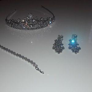 3 piece wedding jewelry